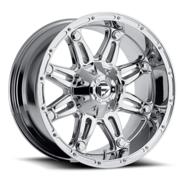 Fuel Hostage D530 Chrome One Piece Off-Road Wheels