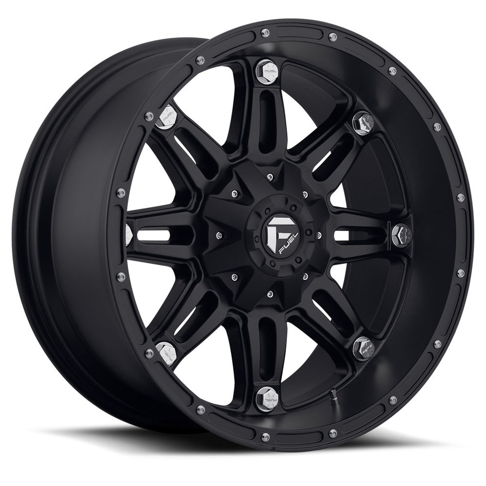 Fuel Hostage D531 Matte Black One Piece Off-Road Wheels