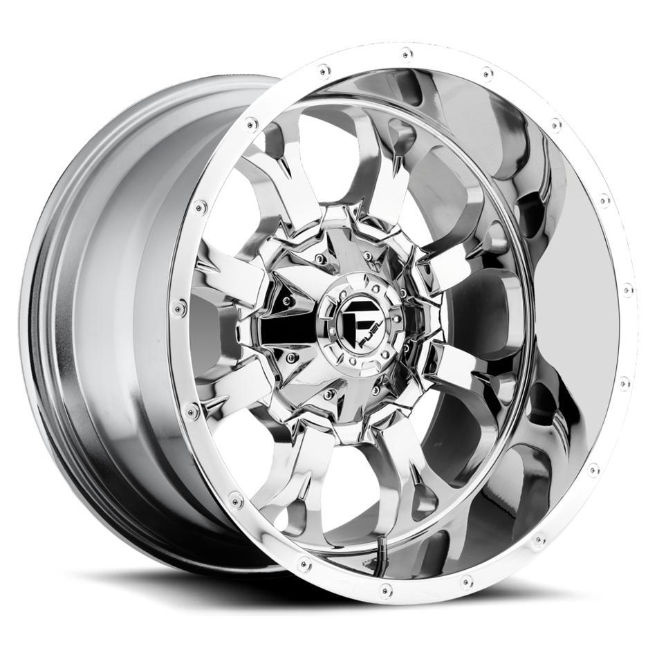 Fuel Krank D517 Chrome Accents One Piece Off-Road Wheels