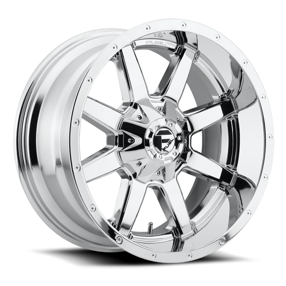 Fuel Maverick D536 Chrome One Piece Off-Road Wheels