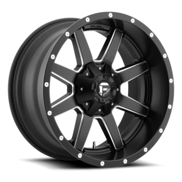 Fuel Maverick D538 Black and Milled Accents One Piece Off-Road Wheels