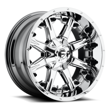 Fuel Nutz D540 PVD Chrome One Piece Off-Road Wheels
