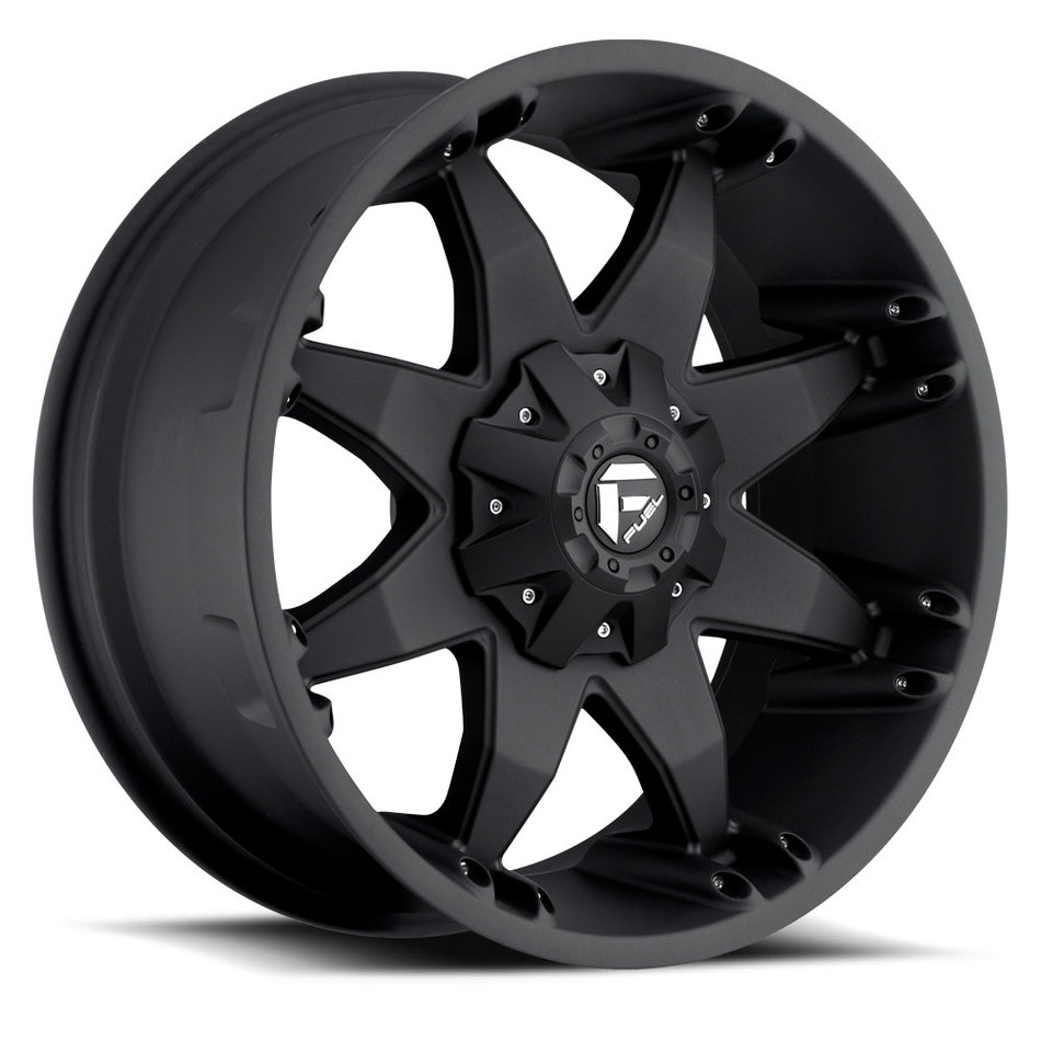 Fuel Octane D509 Matte Black One Piece Off-Road Wheels