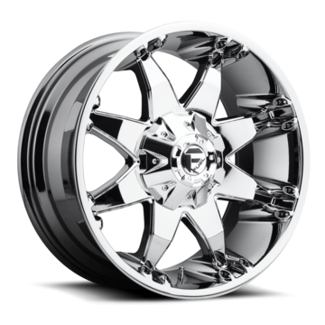 Fuel Octane D520 PVD Chrome One Piece Off-Road Wheels
