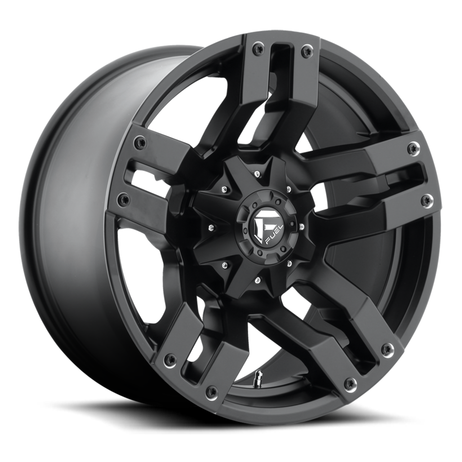 Fuel Pump D515 Matte Black One Piece Off-Road Wheels