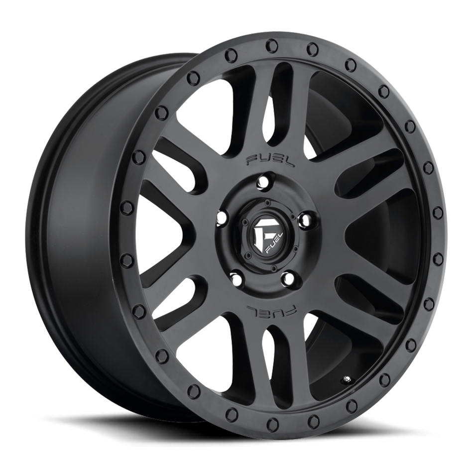 Fuel Recoil D584 One Piece Off-Road Wheels