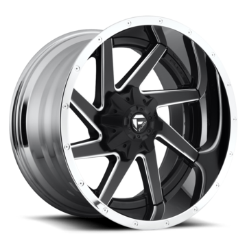 Fuel Renegade D264 Two Piece Off-Road Wheels