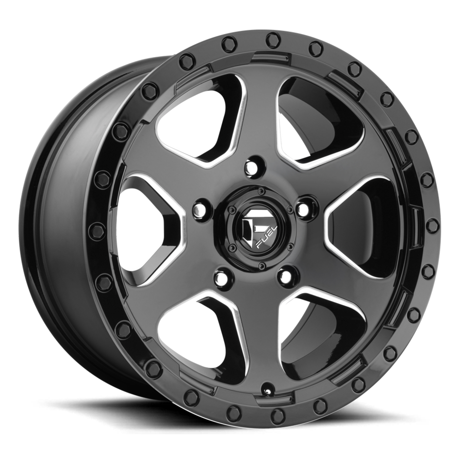 Fuel Ripper D590 One Piece Off-Road Wheels