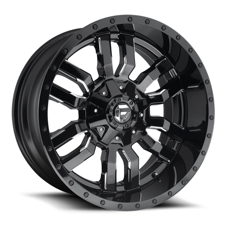 Fuel Sledge D595 One Piece Off-Road Wheels