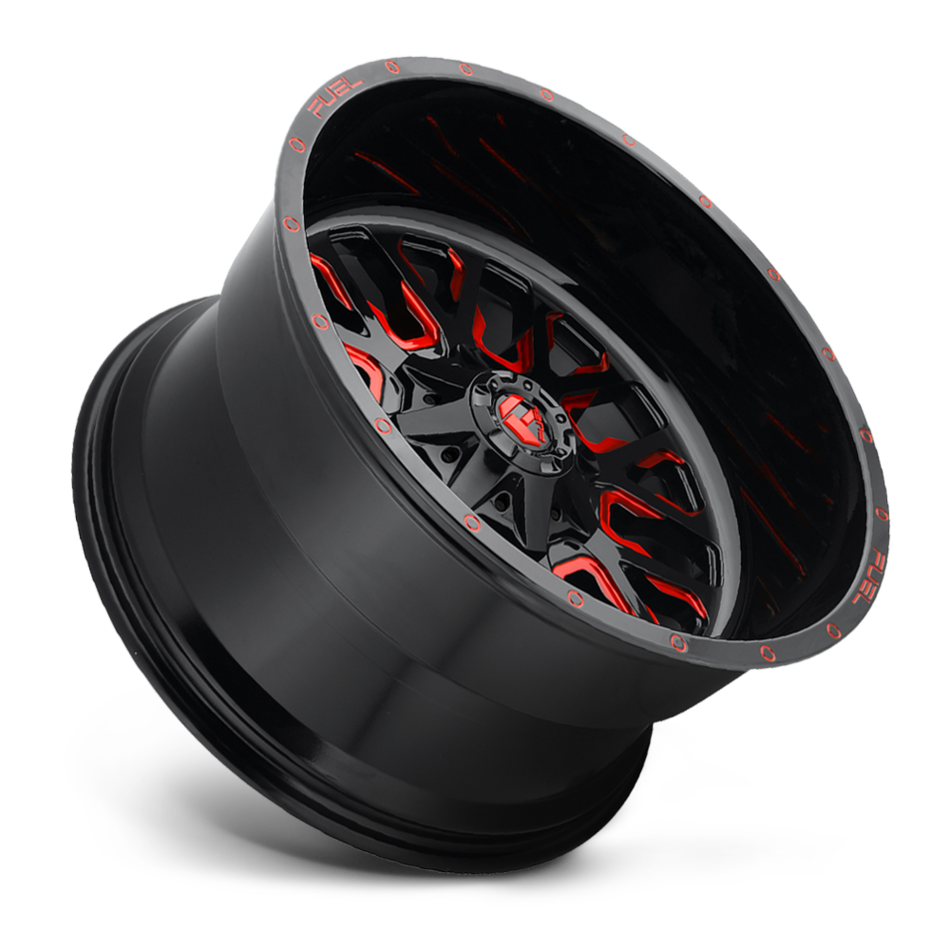 Fuel Stroke D612 One Piece Off-Road Wheels
