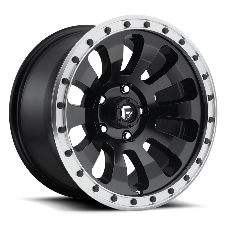 Fuel Tactic D629 One Piece Off-Road Wheels
