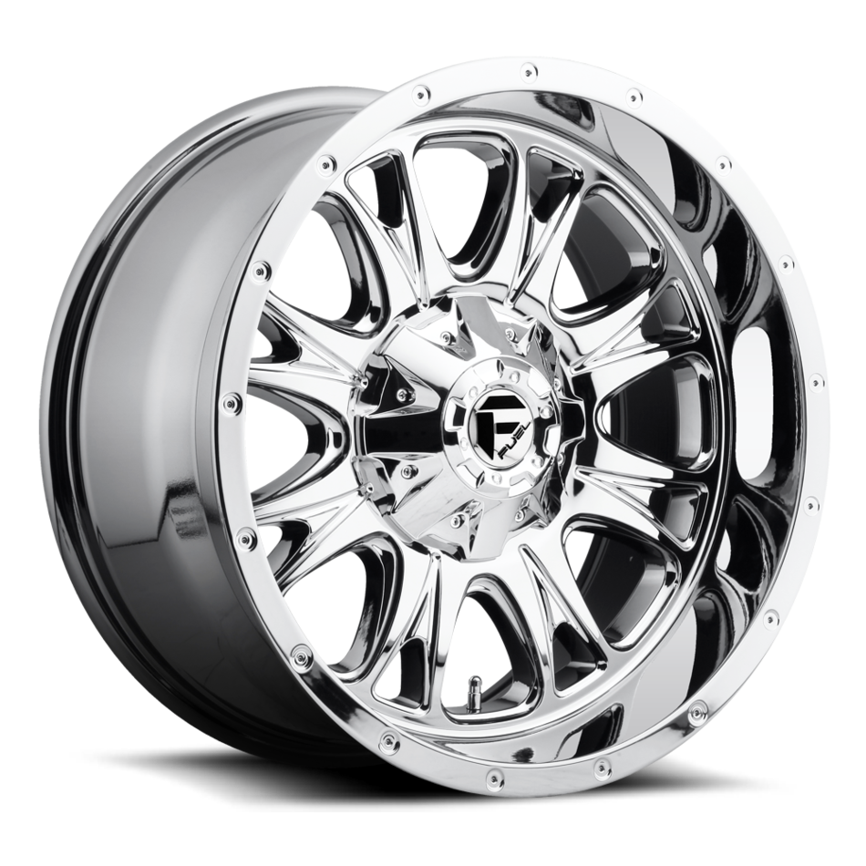 Fuel Throttle D519 PVD One Piece Off-Road Wheels
