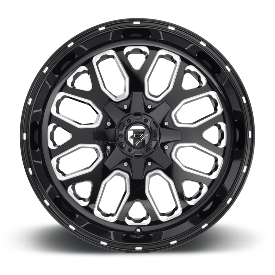 Fuel Titan D588 One Piece Off-Road Wheels