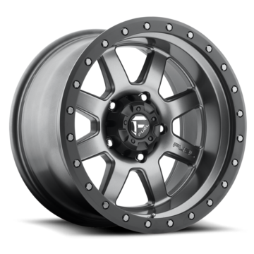 Fuel Trophy D552 Matte Anthracite with Black Ring One Piece Off-Road Wheels