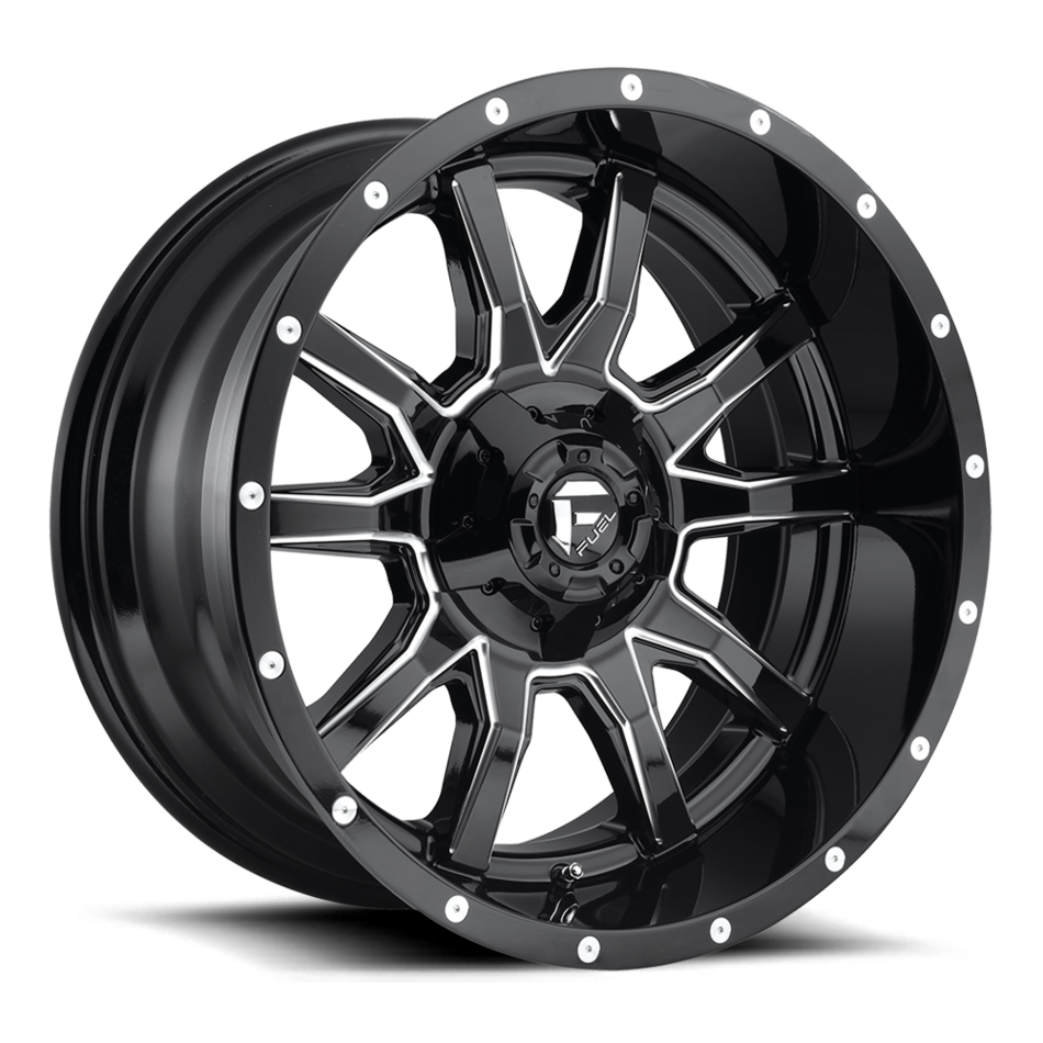 Fuel Vandal D627 One Piece Off-Road Wheels