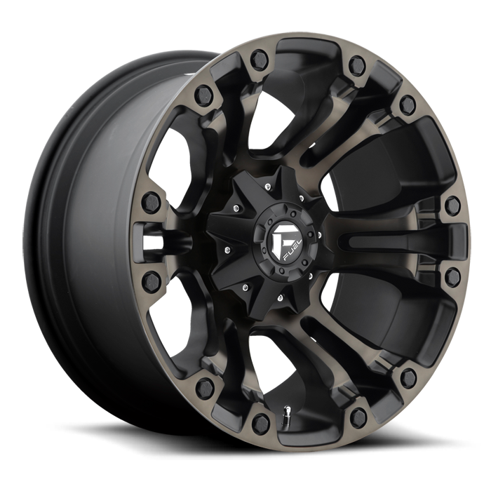 Fuel Vapor D569 One Piece Off-Road Wheels