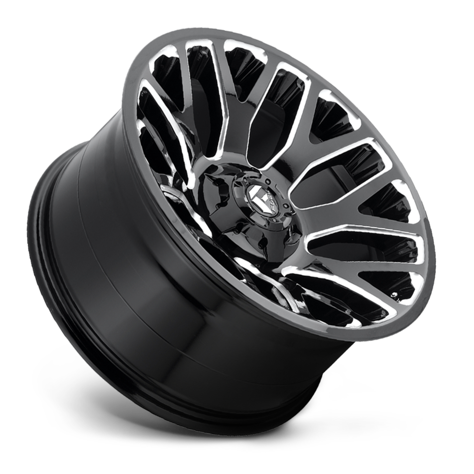 Fuel Warrior D607 One Piece Off-Road Wheels