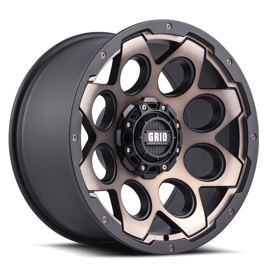 Grid Offroad GD8 Wheels