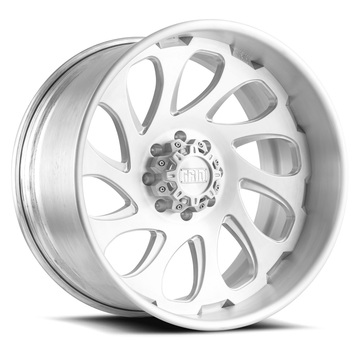 Grid Offroad GF10 Brushed Finish Wheels
