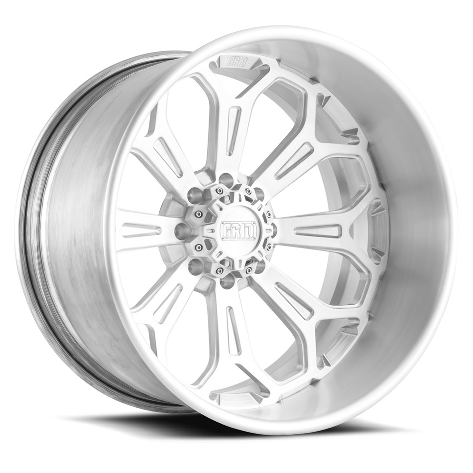 Grid Offroad GF3 Brushed Finish Wheels