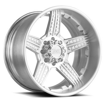 Grid Offroad GF5 Brushed Finish Wheels