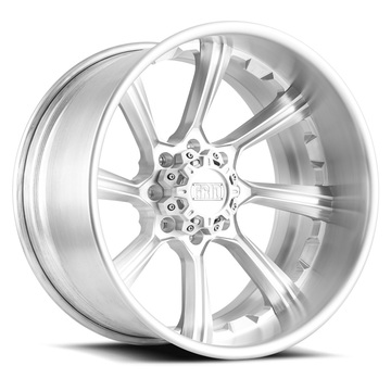 Grid Offroad GF8 Brushed Finish Wheels