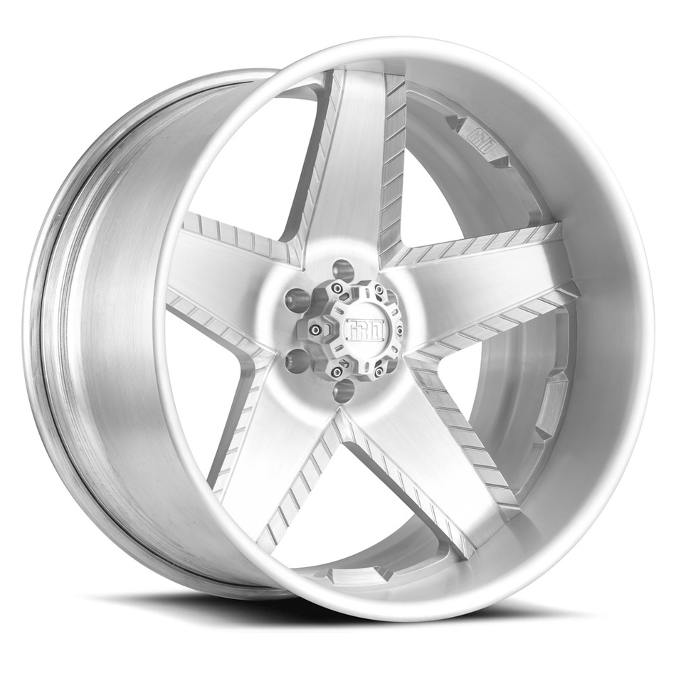 Grid Offroad GF9 Brushed Finish Wheels