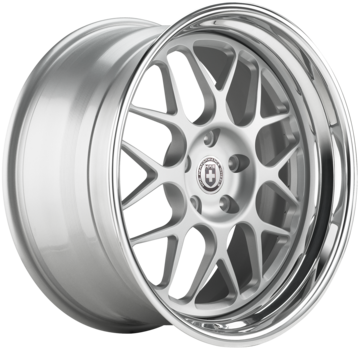 HRE 560C Brushed Clear Finish Wheels