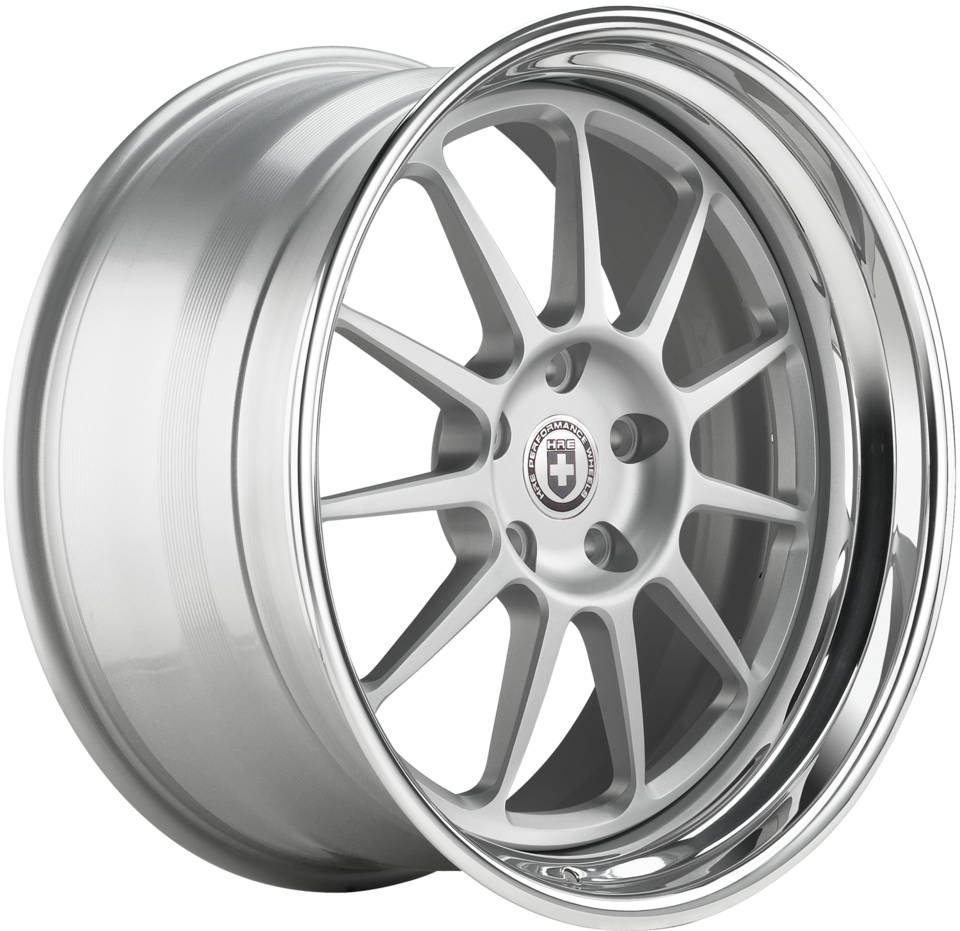 HRE 563C Brushed Clear Finish Wheels