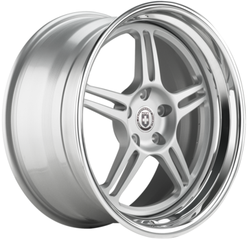HRE 567C Brushed Clear Finish Wheels