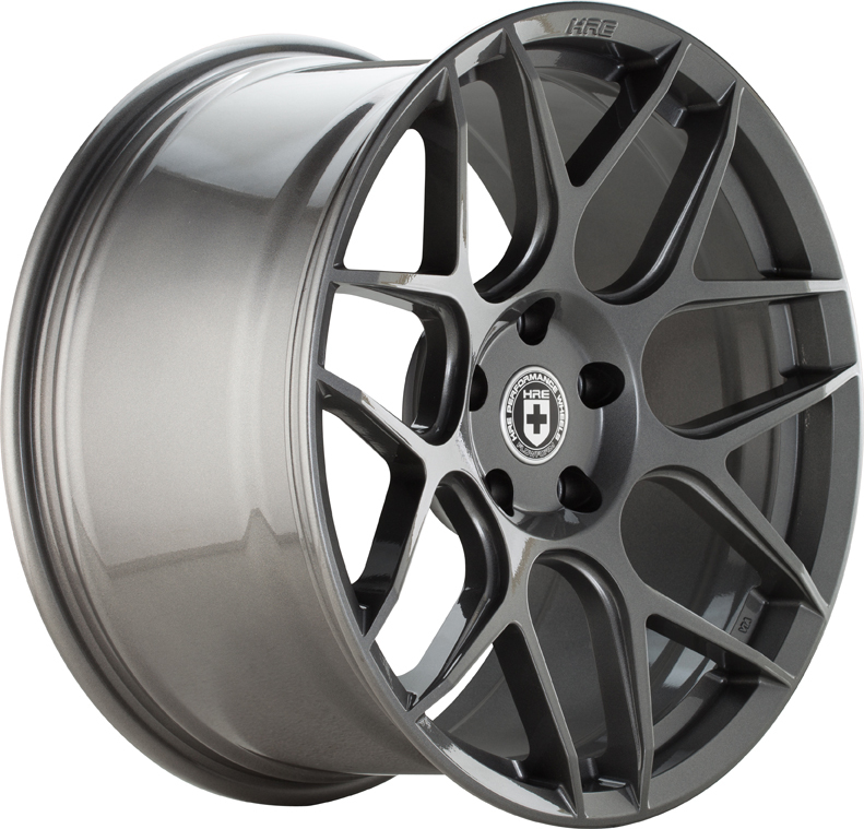 HRE FF01 FlowForm Anthracite Finish Wheels