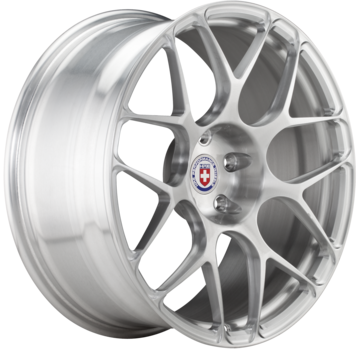 HRE P40S Brushed Clear Finish Wheels