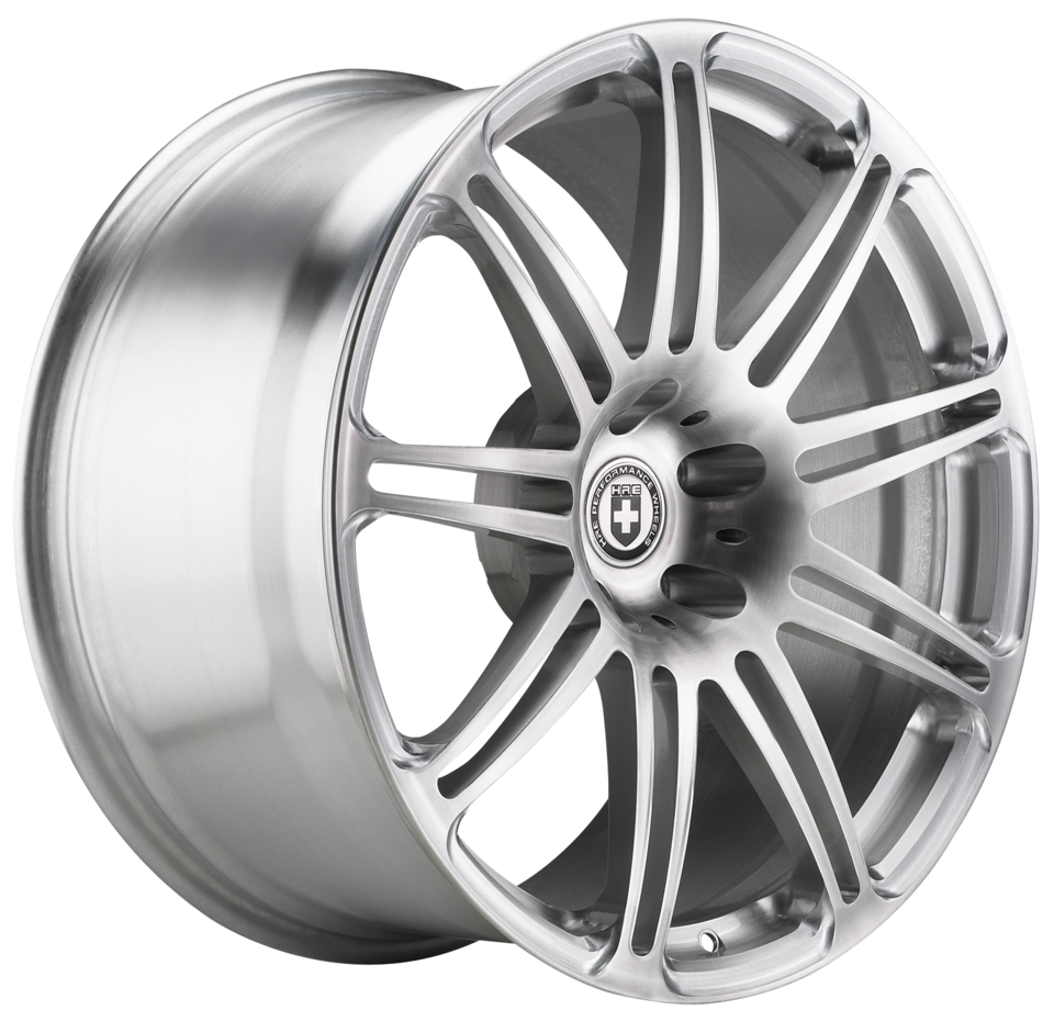 HRE P41 Brushed Clear Finish Wheels