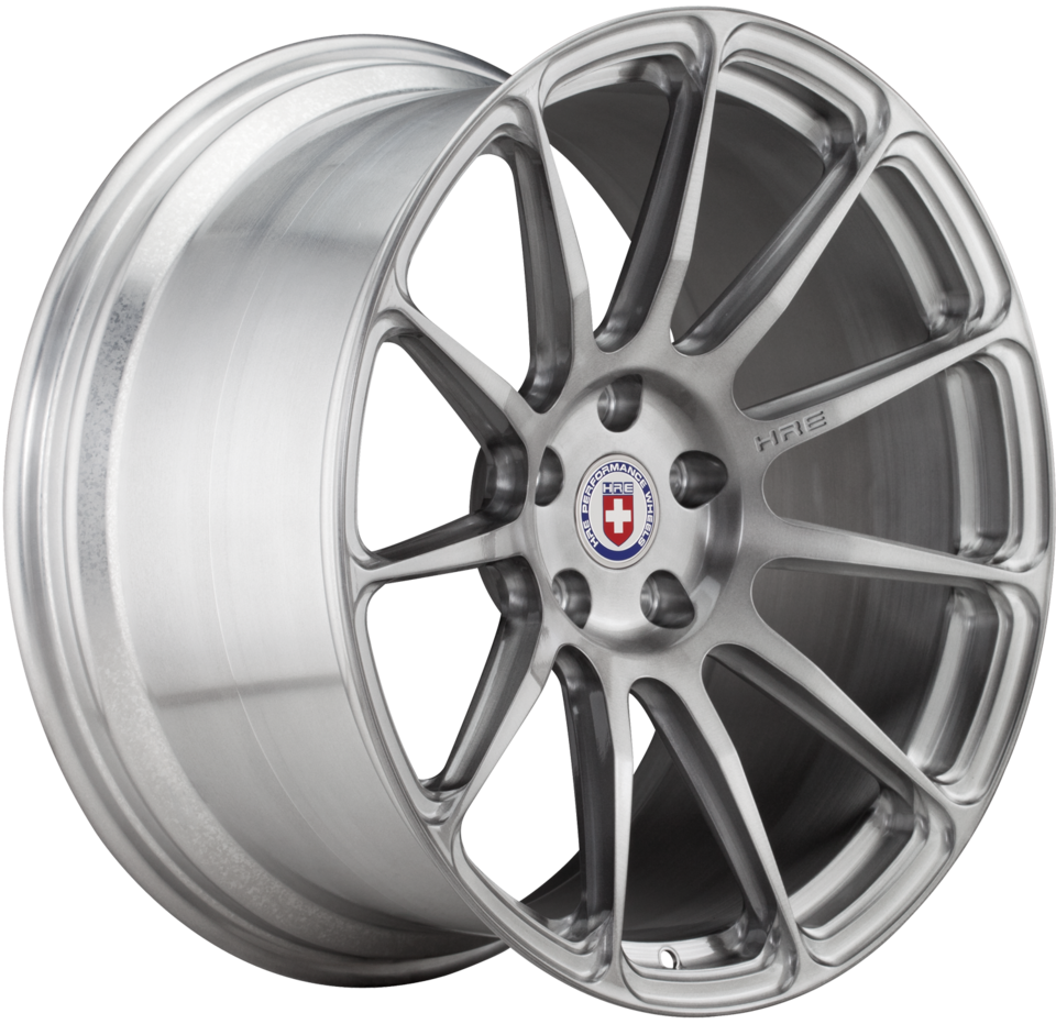 HRE P43SC Brushed Tinted Finish Wheels