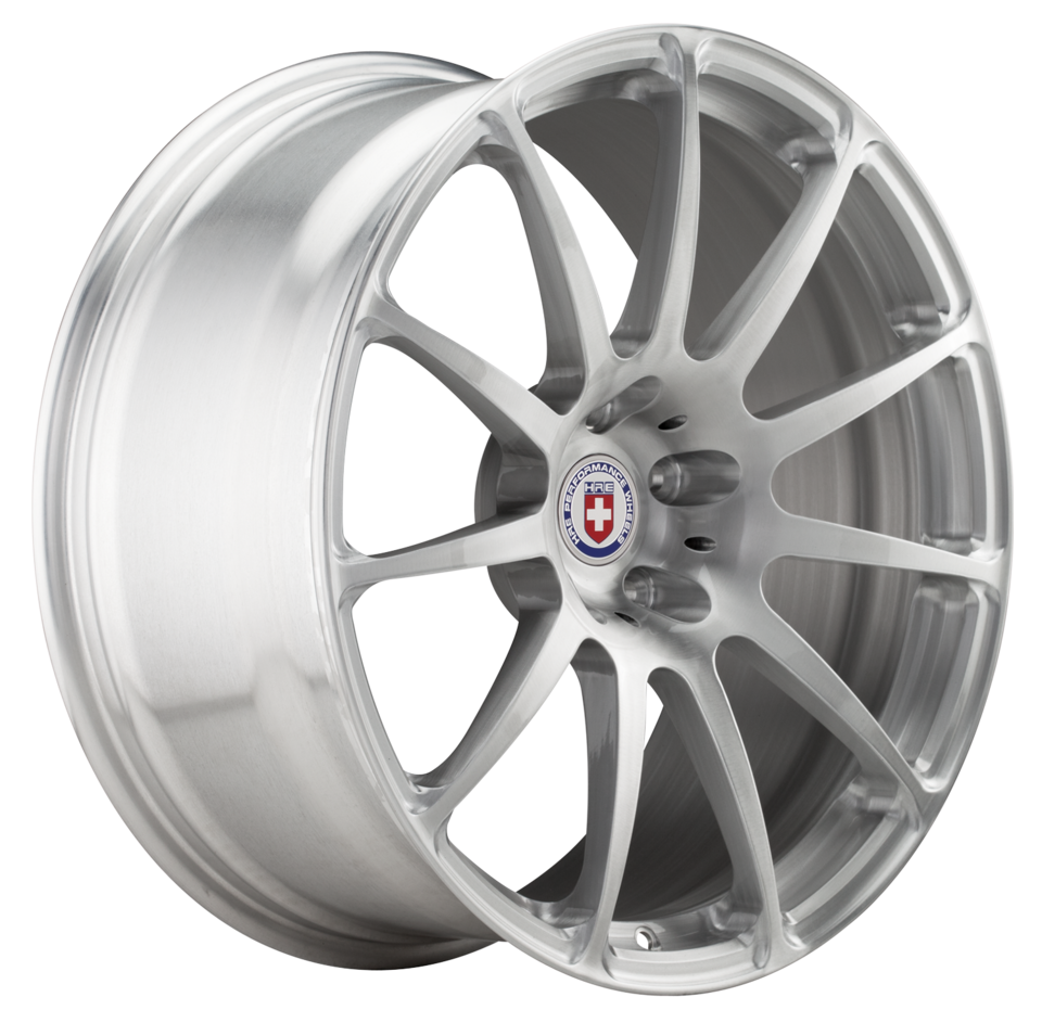 HRE P43 Brushed Clear Finish Wheels
