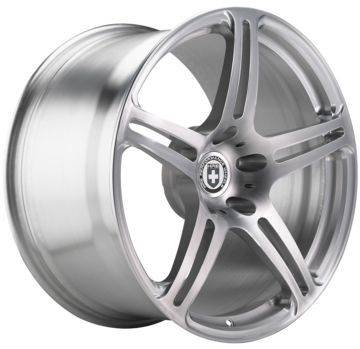 HRE P47 Brushed Clear Finish Wheels
