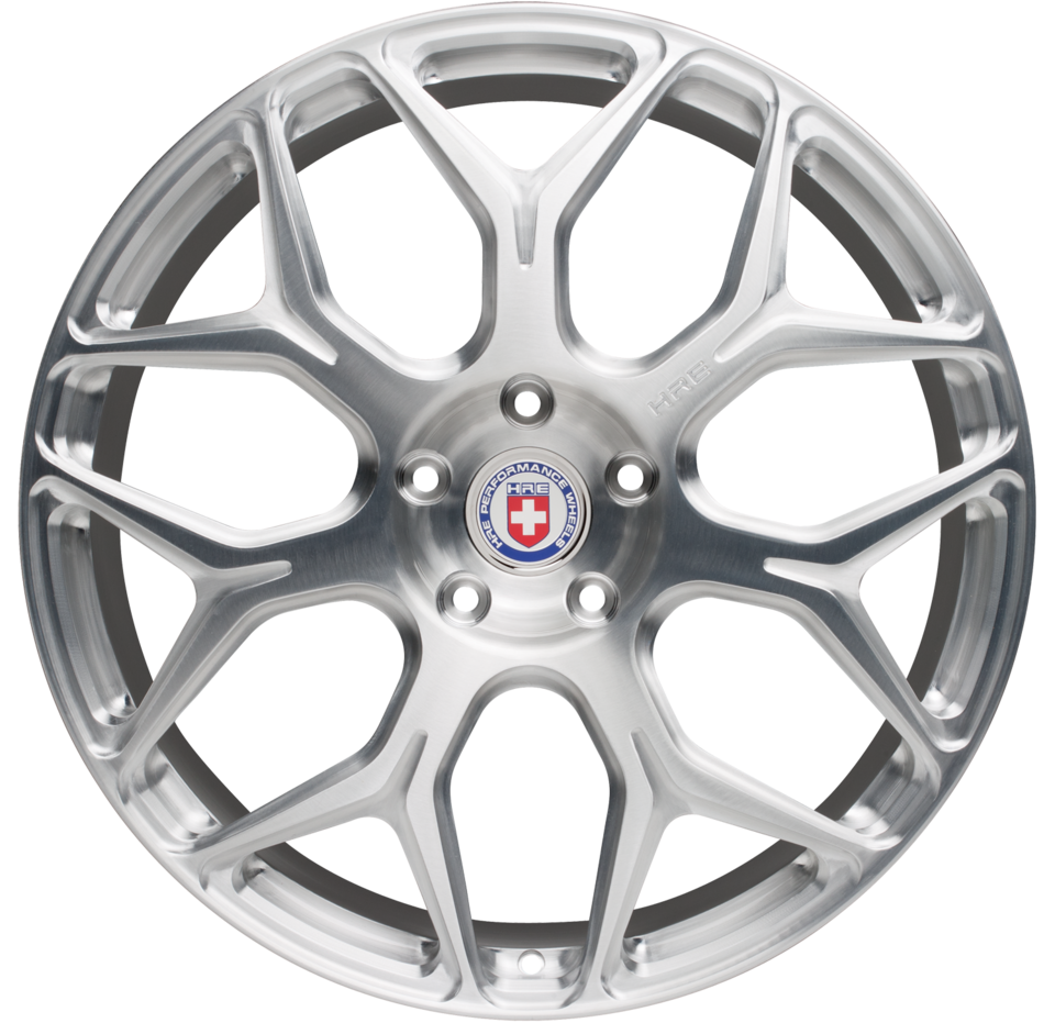 HRE P90L Brushed Tinted Finish Wheels