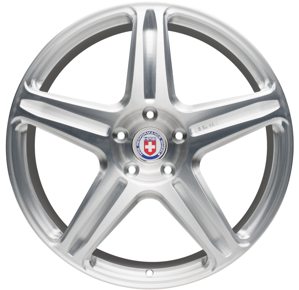 HRE P95L Brushed Tinted Finish Wheels