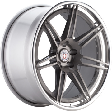 HRE RS101 Brushed Tinted Face with Polished Lip Finish Wheels