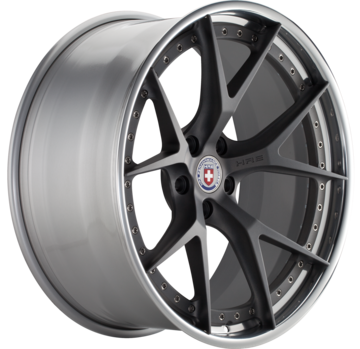 HRE S101 Brushed Tinted Face with Polished Lip Finish Wheels