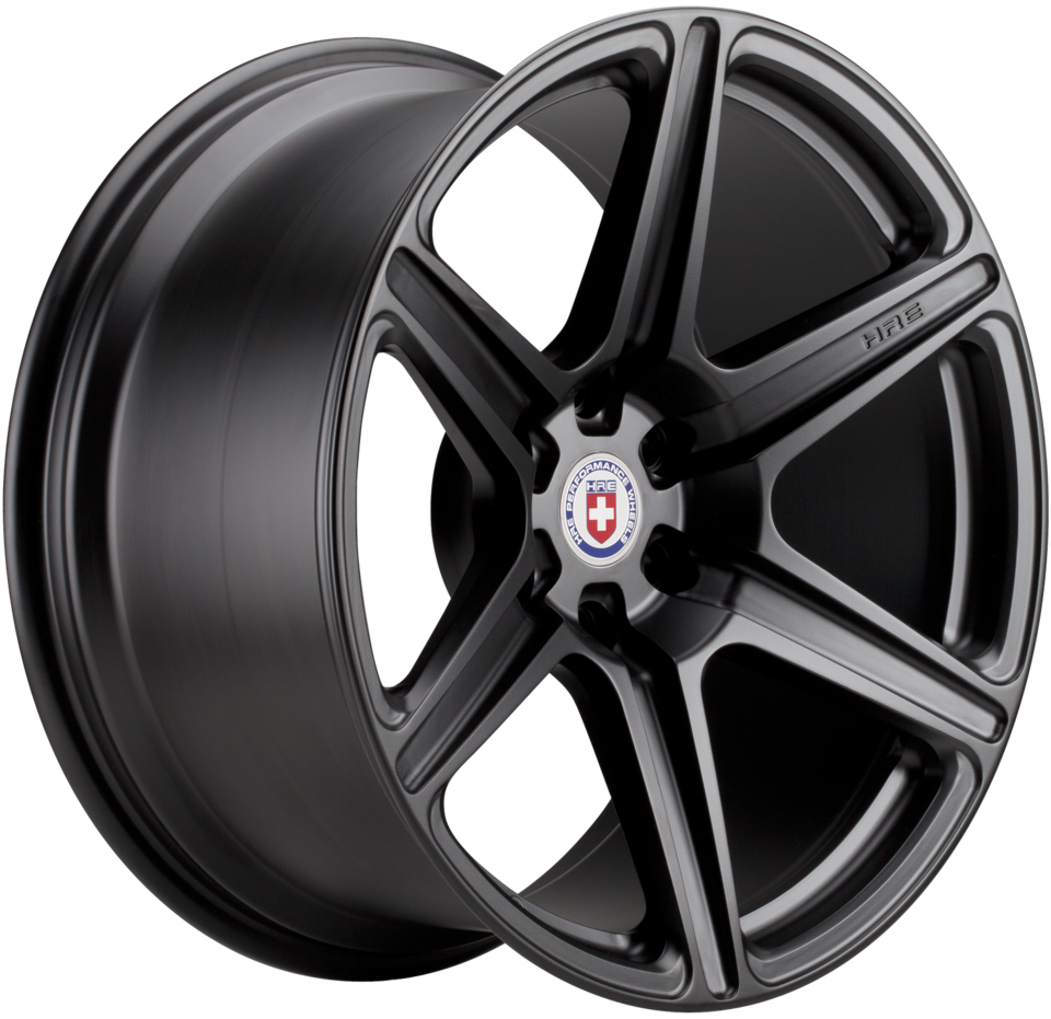HRE TR46 Satin Black Finish Wheels