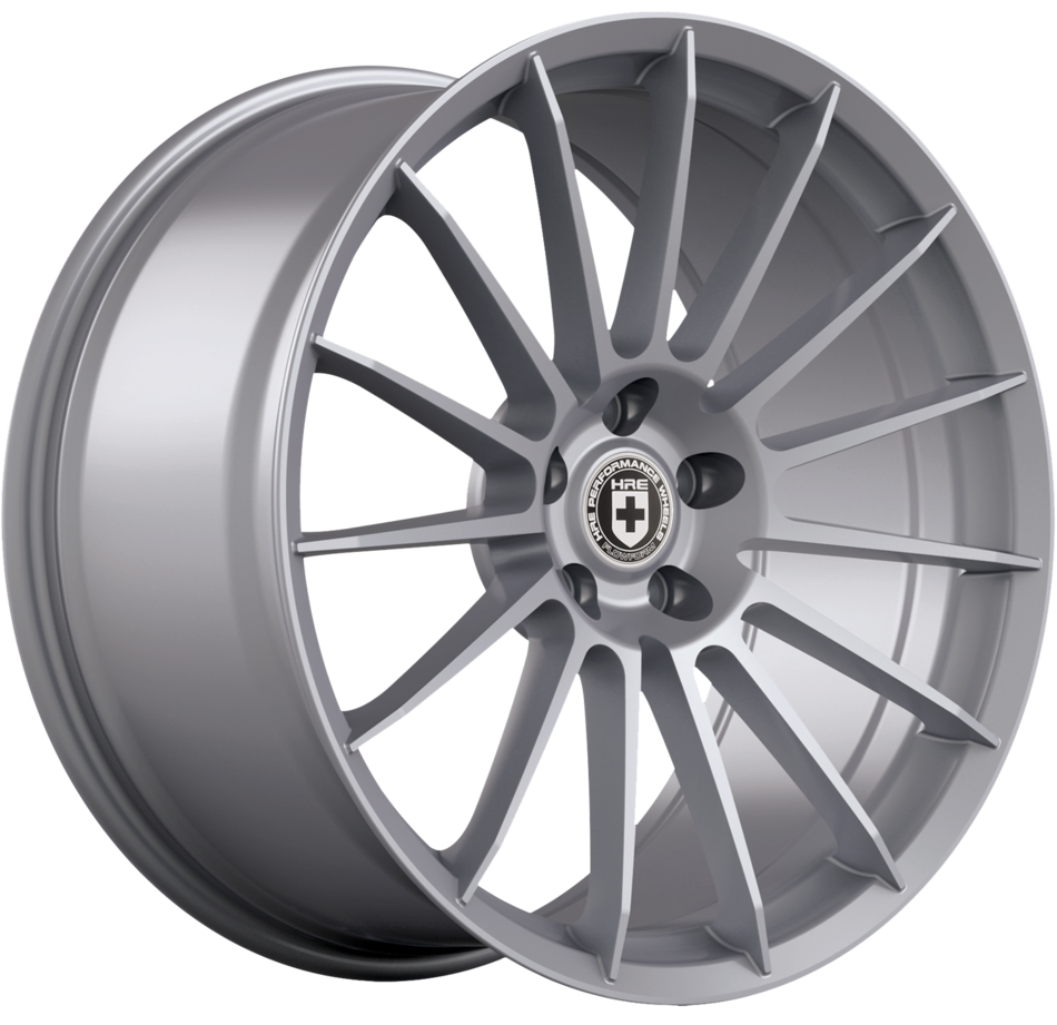 HRE FF15 FlowForm Liquid Silver Finish Wheels