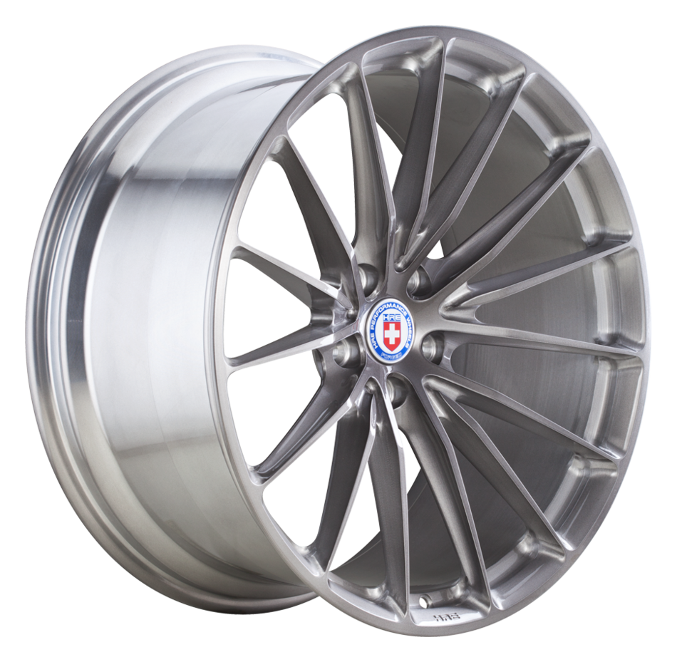 HRE P103 Brushed Tinted Finish Wheels