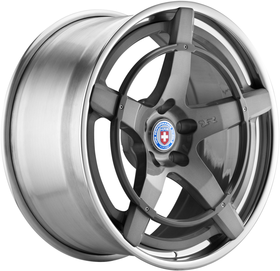 HRE Recoil with Ring 3-Piece Forged Wheels