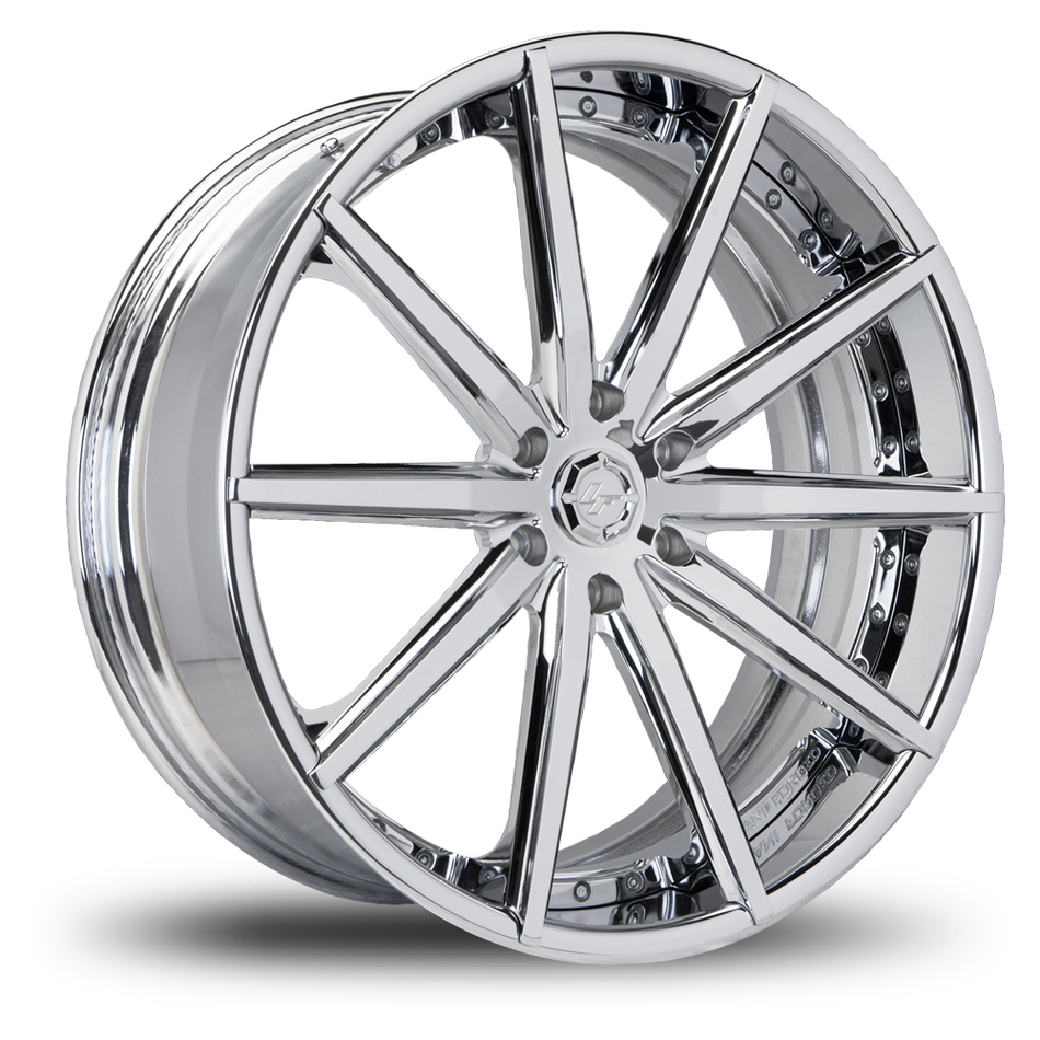 Lexani LZ-108 Chrome Finish Wheels