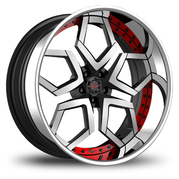 Lexani LF-110 Custom Painted Wheels