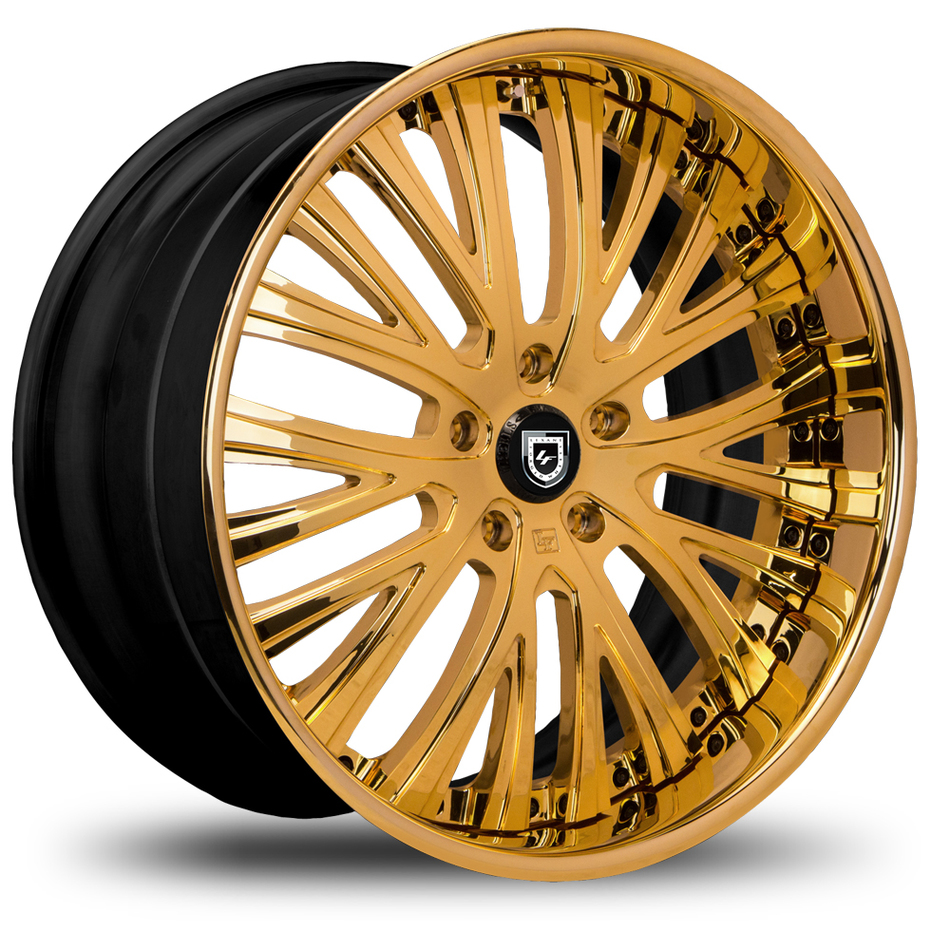 Lexani 713 Gold Finish Wheels