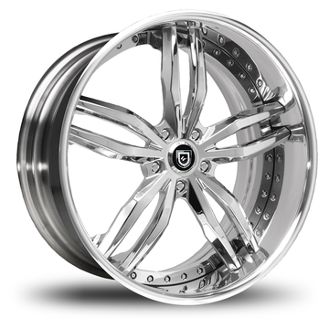Lexani 717 Chrome Wheels