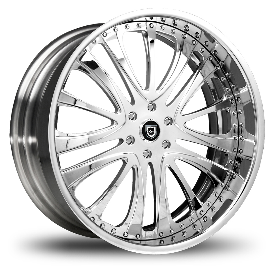 Lexani 718 Chrome Wheels