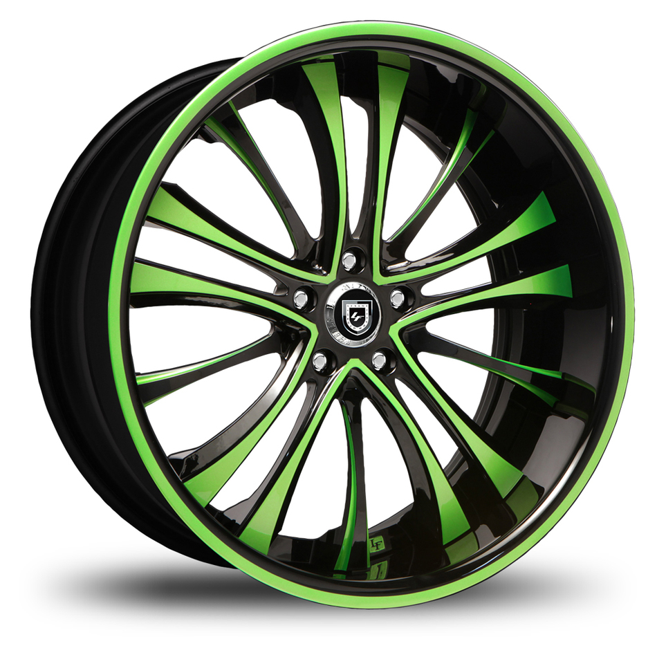 Lexani 718 Custom Painted Wheels